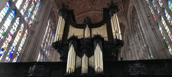 Harrison & Harrison Orgelkonzert – King's College Chapel – Cambridge – März 2019