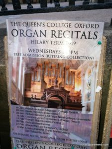 Queen's College - Oxford - Loreto Aramendi