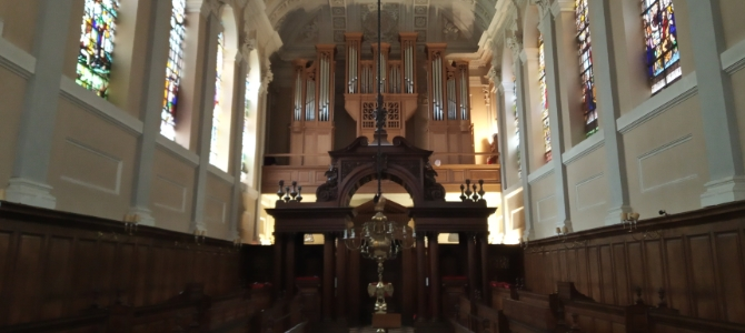 Concert à l'orgue Frobenius – Queen's College – Oxford – mars 2019