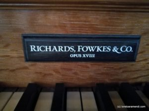 Saint George's Hanover Square - organ concert - Loreto Aramendi