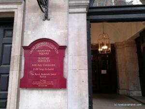 Saint George's Hanover Square - organo kontzertua - Loreto Aramendi