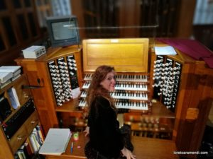 Concierto de órgano - Saint Albans - Loreto Aramendi
