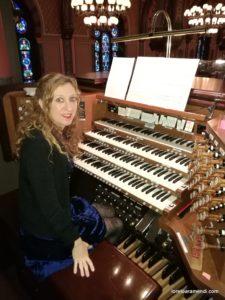 Loreto Aramendi - Órgano Casavant - Central Sinagoga - New York City