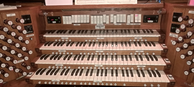 Concierto al órgano Casavant – Sinagoga Central de New york – USA – Mayo 2019
