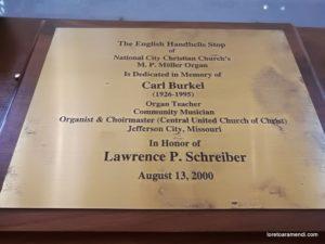 National City Christian Church – Washington DC – EEUU