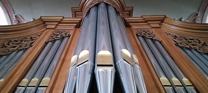 Kontzertua  Heiliggeistkirche  –  Bern  –  Suitza  –  2019ko  Metzler  organoan  (1981)