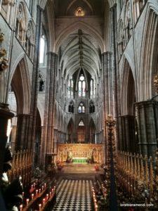 Pipe Organ - Westminster Abbey - London