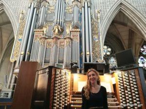 Loreto Aramendi - Organ concert at the Westminster Abbey - London