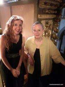Loreto Aramendi und Maria Nacy