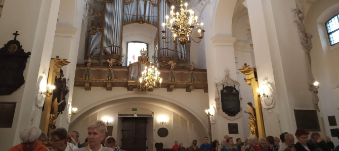 Organ Concert in Lowicz – Poland – July 2019