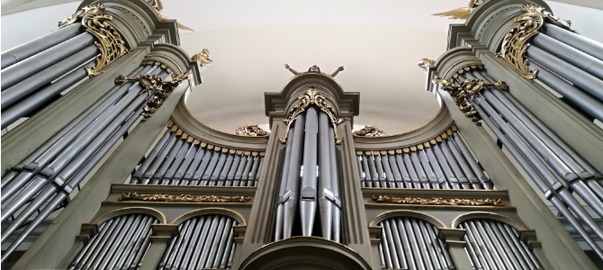 Concert à l'orgue de l'église de San Francisco – Varsovie – juillet 2019