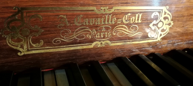 Concert at the Cavaillé-Coll pipe organ – Farnborough Abbey – England – June 2019