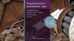 Loreto Aramendi - concierto de órgano de Doesburg