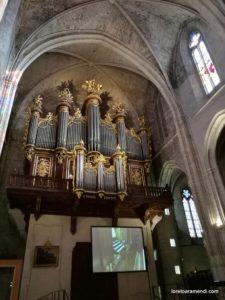 órgano - Catedral de Montpellier