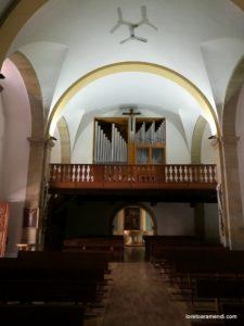 Órgano -Iglesía de Suances