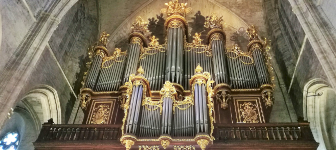 Concert at the Merklin and Kern (1926) – Saint Pierre Cathedral – Montpellier – France – August 2019