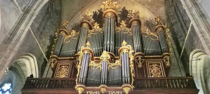 Concierto en el órgano Merklin y Kern – Catedral de Saint Pierre – Montpellier – Francia – Agosto 2019
