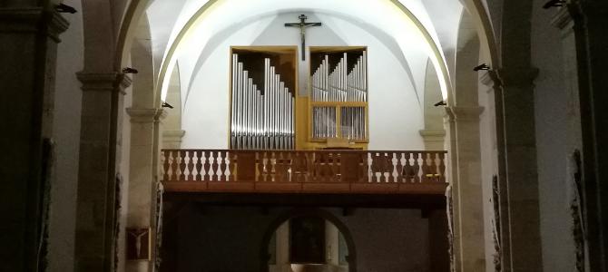 Concert à l'orgue Azpiazu – Paroisse Notre-Dame des Lindes – Suances – Cantabrie – Juillet 2019