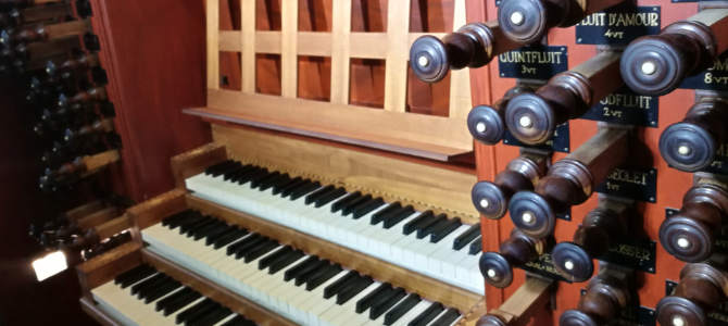 Organ concert at the Hans Henrich Bader – Walburg Kerk – Zutphen – Netherlands –  August 2019