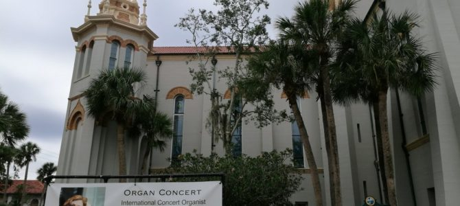 Concierto en el Memorial Presbyterian Church – Florida – USA