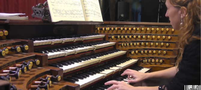 Video of the concert at the Aristide Cavaillé-Coll organ in Saint Sulpice – Paris