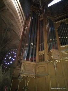 Cavaillé-Coll Pfeifenorgel - San Vicente Kirche - San Sebastian
