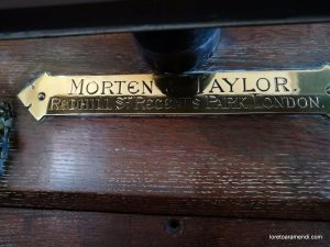 Órgano Morten & Taylor - Iglesía de Alburgh - Inglaterra