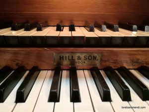 Órgano Hill & Son - Iglesía de Barsham - Inglaterra