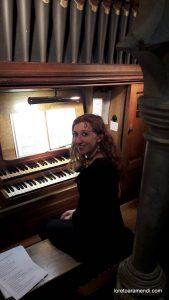 Loreto Aramendi en concierto a Barsham