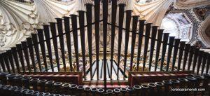 Organo Pedro Echevarría Catedral de Salamanca