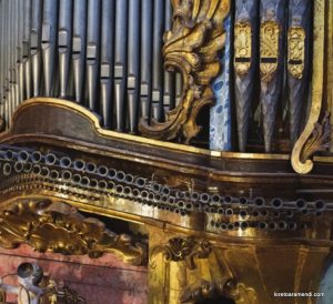Organo de Sant Andreu de Santanyí