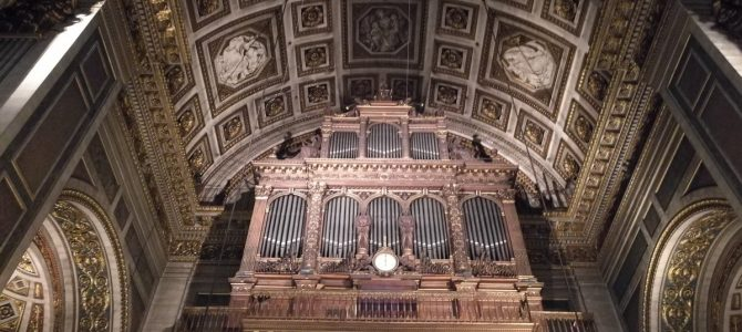 Concert at the Cavaillé-Coll de La Madeleine organ – Paris – March 2020
