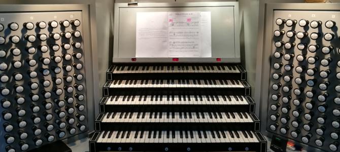 Concierto de órgano – Cathedral de Copenhague – Julio 2020
