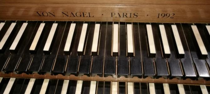 Harpsichord concert – Irun – Teatro Amaia – September 2020