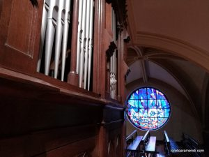 Concert in the parish of the Franciscans of Donostia. Amezua organ.