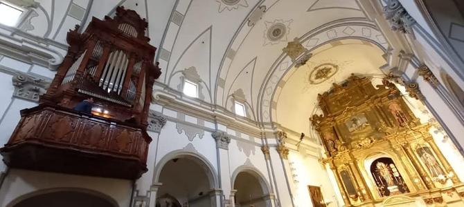 Concierto al órgano histórico de Montesa – Noviembre 2020