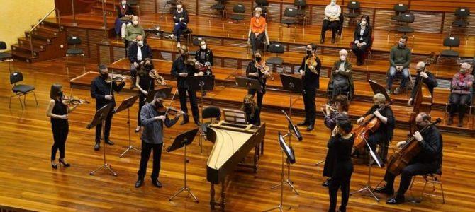 Bach Camerata Miramon – Conciertos de Brandenburgo – Donostia- Marzo 2021