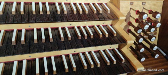 Concierto de órgano – Vicálvaro – Abril 2021