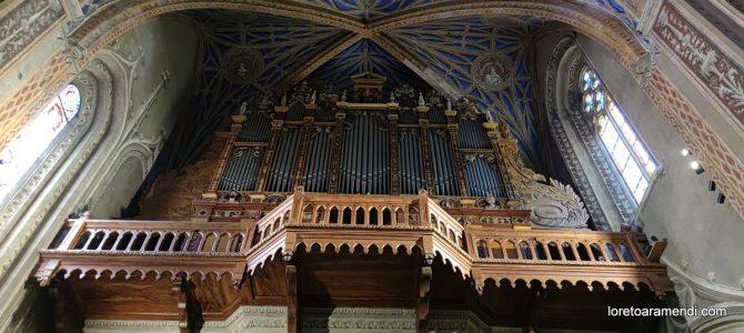 Cathedral of Saint-Alain – Lavaur – France – Organ Cavaillé-Coll – August 2021