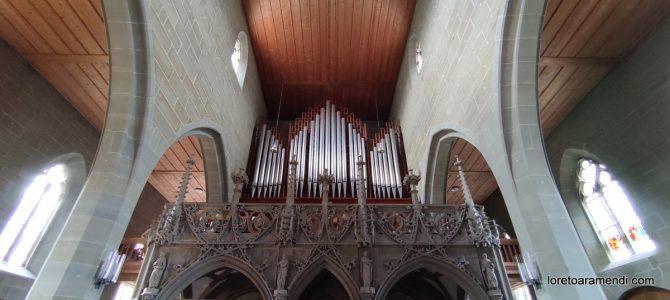 Concierto de órgano – Burgdorf – Suiza – Septiembre 2021