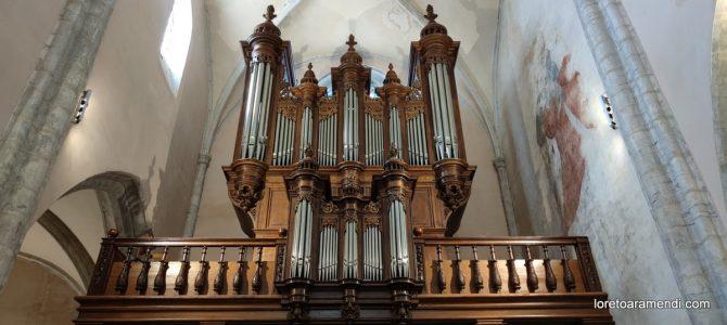Organ Concert – Poligny – France – September 2021