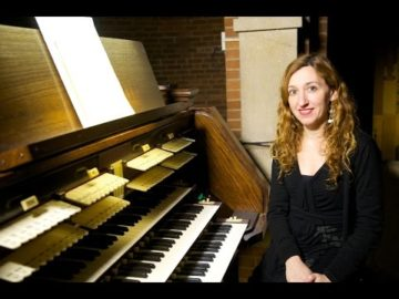 Loreto Aramendi play some of the Durufle Veni Creator | Recital March 15 2015