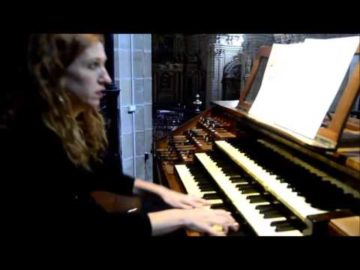 Loreto Aramendi plays Louis Vierne Final 1st Symphony (extract) at Santa Maria Basilica