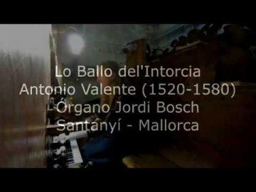 Loreto Aramendi plays Lo Ballo de l'Intorcia - Antonio Valente - Órgano Jordi Bosch - Santanyí.