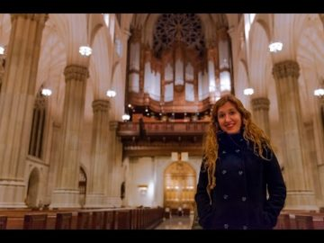 Loreto Aramendi plays Bach Sinfonia from Cantata No. 29 | Saint Patrick's Cathedral NYC