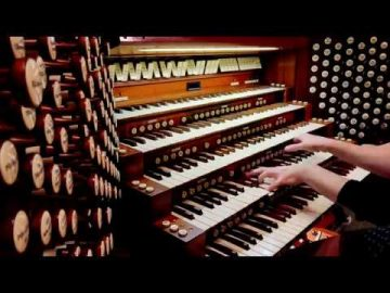 Dance Macabre Saint Saens. Pipe organ music by Loreto Aramendi
