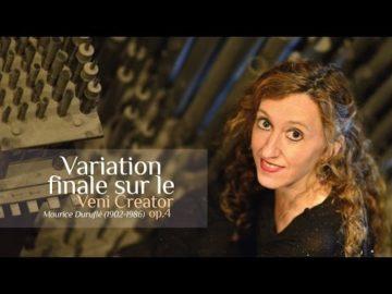 Maurice Durufle - Veni Creator - Variation