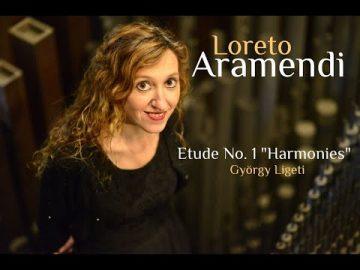 Loreto Aramendi plays Étude n.1 de György Ligeti
