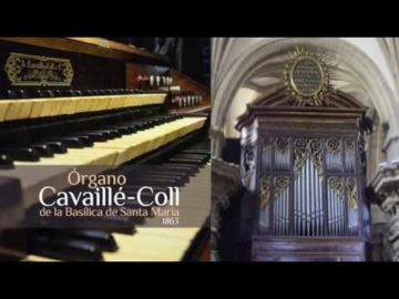Maurice Durufle Theme of Veni Creator at Santa Maria Basilica